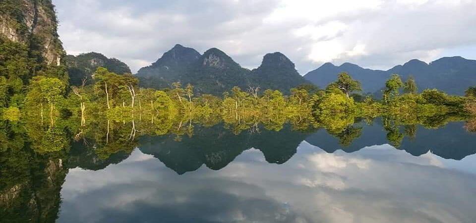 Phong Nha - Kẽ Bàng: hành trình tour du lịch Phong Nha khám phá những cảnh đẹp tuyệt vời, đây là hình ảnh vô cực tại Phong Nha - Quảng Bình ( ảnh: Dương Phong)