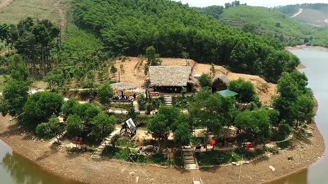 làng du lịch bồng lai