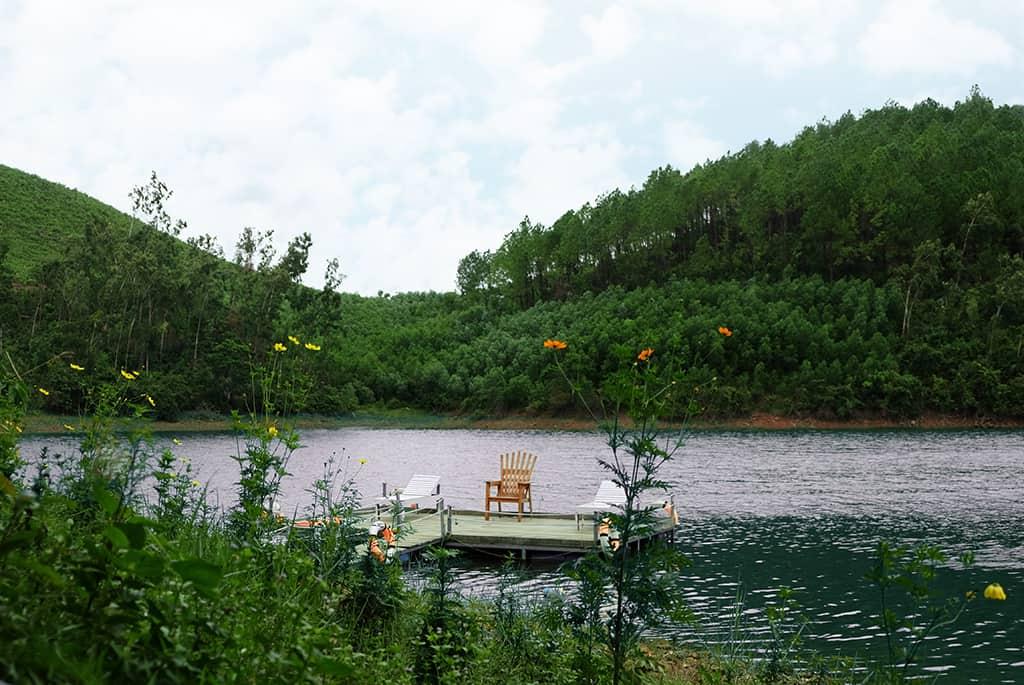 Ố ồ lake silence