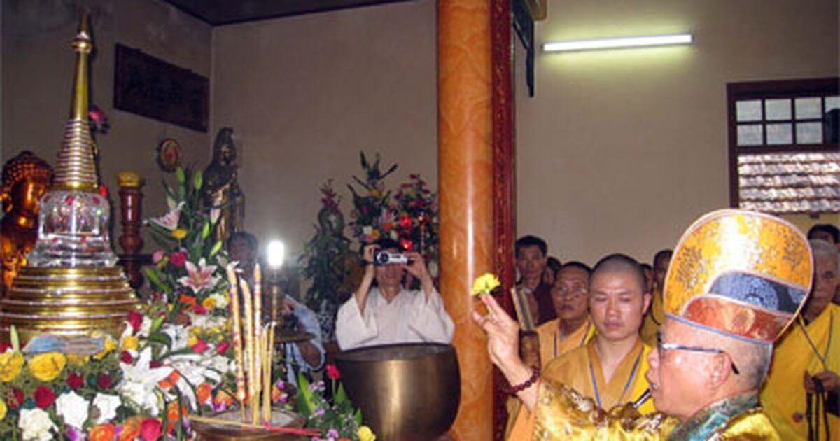 Ngọc xá lợi chùa Phổ Minh